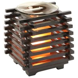 Asian Wooden Style Oil Warmer