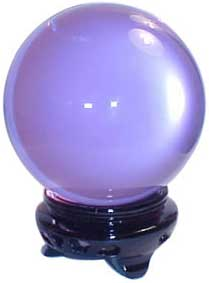 75 mm Lavender crystal ball