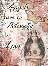 Angels Philosophy Card by Jessica Galbreth