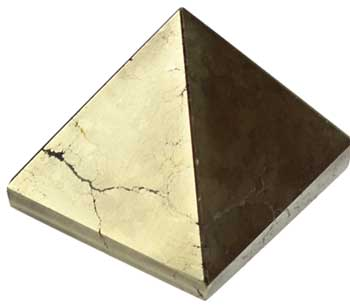 30- 35mm Pyrite pyramid