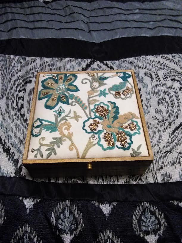 Hand Crafted Hand Beaded Box