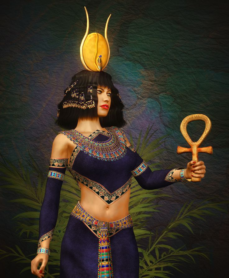 Custom Immortal Portal to the Egyptian Goddess Hathor
