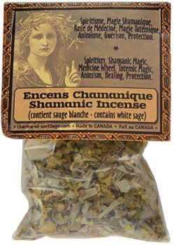 Shamanic resin/ herb incense