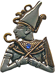 Osiris Amulet for Good Judgement