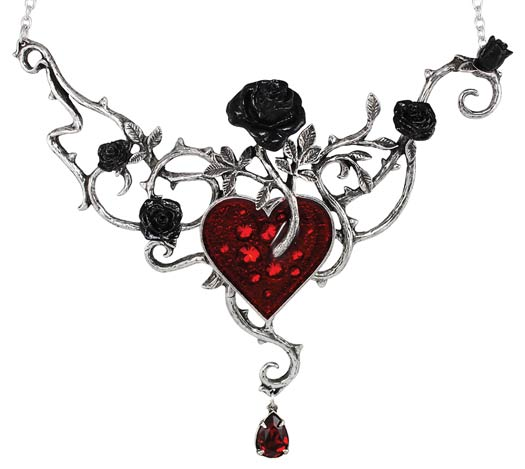 Bed of Blood Roses Choker