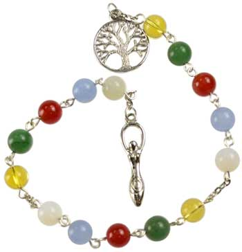 Elemental prayer beads