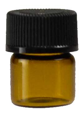 1/3 dr Bottle Amber Round