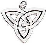 The Triple Goddess Charm for Stability & Security