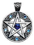 Celtic Pentagram for Willpower and Success
