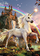 Evening Star Unicorn Card by David Penfound - 6 Pack