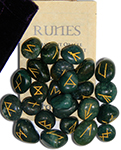 Bloodstone Gemstone Runes
