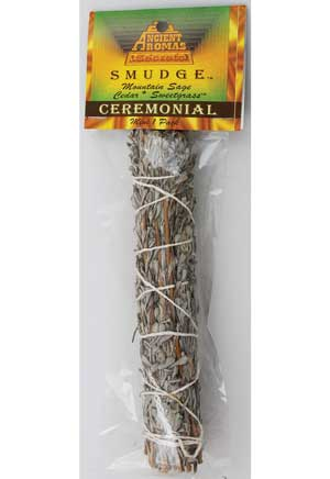 Ceremonial smudge stick 5-6""