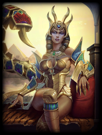 Custom Immortal Portal to Egyptian Goddess Serqet