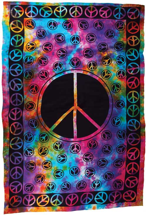 "Peace tapestry (72"" x 108"")"