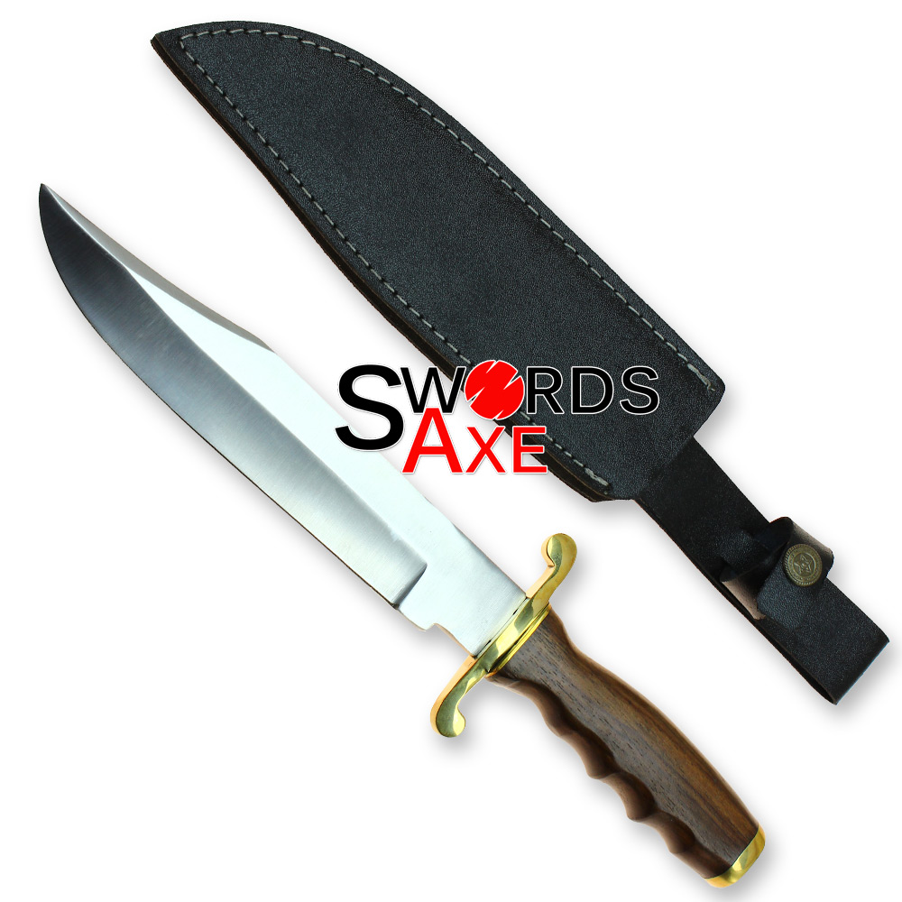 Large Stainless Steel Classic Enormous Bowie Knife