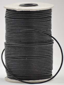 Black Wax Cotton 2mm 100meter