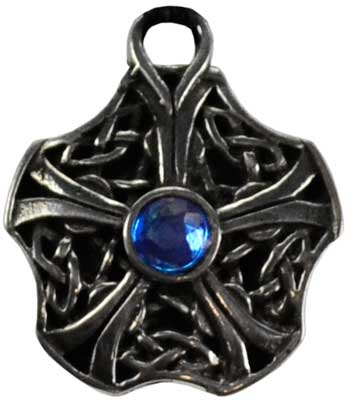 Celtic Knot Star pewter